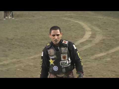 Joao Ricardo Vieira rides Crazy Horse for 88.75 points