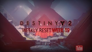 NEW Faction Rally Grind! // Destiny 2 Weekly Reset WEEK 19 // The Curse Of Osiris DLC