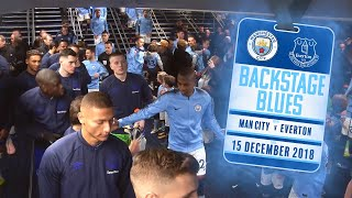 BEHIND THE SCENES AT THE ETIHAD | BACKSTAGE BLUES: MAN CITY V EVERTON