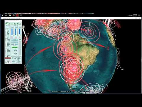 8/01/2017 -- Central + South America Earthquake Update -- New seismic unrest coming this week
