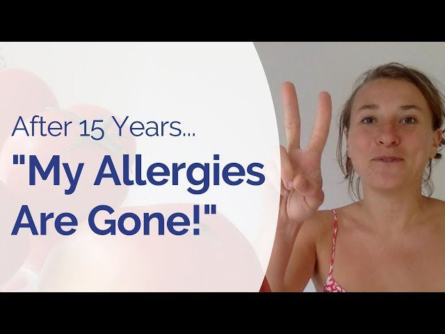 How I Healed My Hay Fever, Pollen and Ragweed Allergy after 15 Years of Struggle