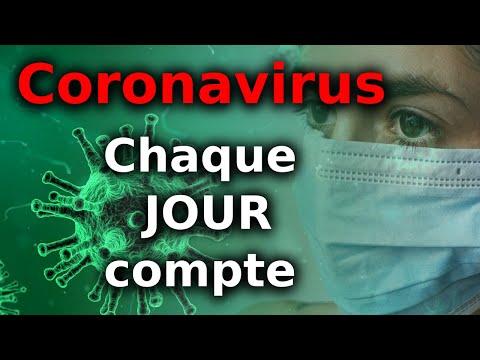 Coronavirus: Chaque JOUR compte