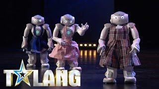 Robotgänget Liu delar juryn i Talang 2017 - Talang (TV4)