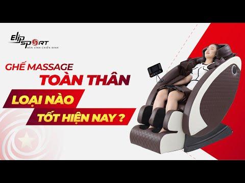 Ghế massage toàn thân loại nào tốt hiện nay? Elipsport
