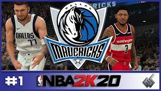 NBA 2K20 | Dallas Mavericks My League S1 | EP. 1 | Season Opener!