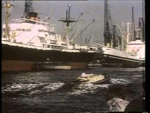 Londons Lost Docks - London Dock Scenes PT 2