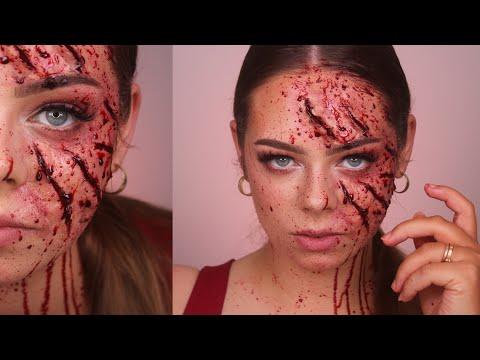 BEAR ATTACK / Halloween SFX Makeup Tutorial