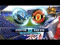 NEW YEARS DAY FOOTBALL - MANUTD VS EVERTON PREMIER LEAGUE ACTION