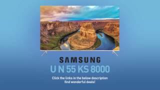 SAMSUNG UN55KS8000 ( KS8000 ) 4K SUHD TV // FULL SPECS REVIEW #SamsungTV