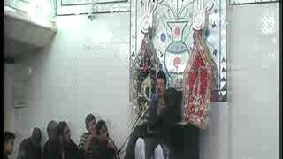 Allama Zamer Akhtar Naqvi  2nd moharam3  Imam Bargah Chaharda Masoomeen Ancholi, Karachi, Pakistan
