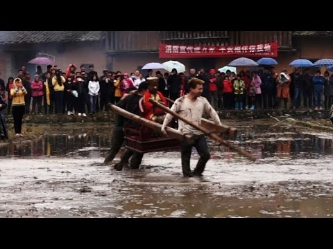 China villages usher in spring, honour Robin Hood-like hero