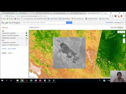 Google Earth Engine #6: Extrac and apply Mask - YouTube