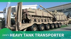 IDEX 2019: VOLAT Heavy Tank Transporter