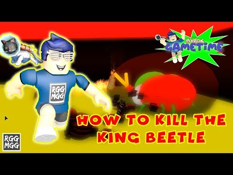 HOW TO KILL KING BEETLE in Roblox Bee Swarm Simulator