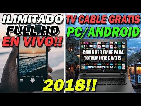 👉 INCREIBLE TRUCO PARA TENER TV CABLE EN TU CASA GRATIS  Android y PC   1000 Canales 2018 🔥