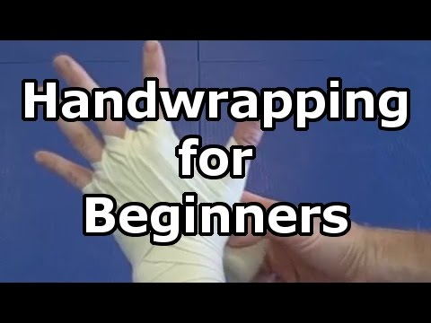 Hand wrapping Basics – How to wrap your hands for boxing, kickboxing, and Muay Thai with long wraps