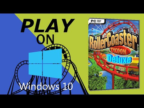 Play Rollercoaster Tycoon 1, 2 on Windows 10  100% WORKING 💡🎉