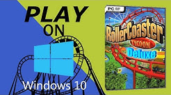 Play Rollercoaster Tycoon 1, 2 on Windows 10. 💡🎉