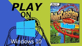 Play Rollercoaster Tycoon 1, 2 on Windows 10. 100% WORKING 💡🎉