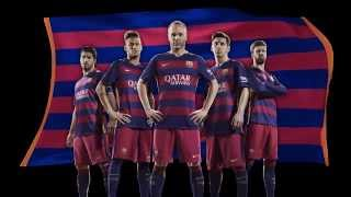 Fc barcelona will play in a bold new home kit from nike next season. the club's famed blue and deep red stripes be horizontal, mirroring horizontal ...