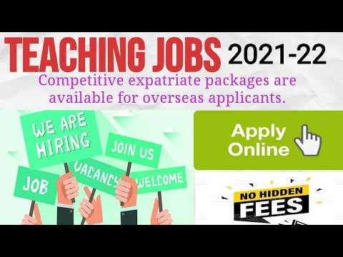 #Overcome How To Get Teaching Jobs In Abroad 2021   Apply Online  Requirements  Experience