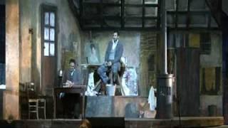 Guido Loconsolo as Marcello in La Bohème - Fourth Act