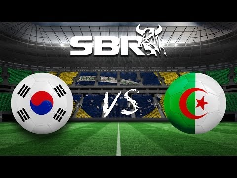 South Korea vs Algeria (2-4) 22/06/14 | Group H 2014 World Cup Preview