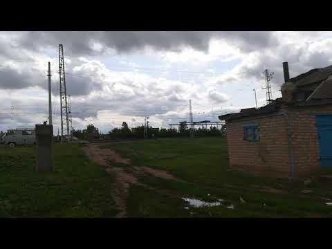 Ураган в Оренбургской области, село Заглядино