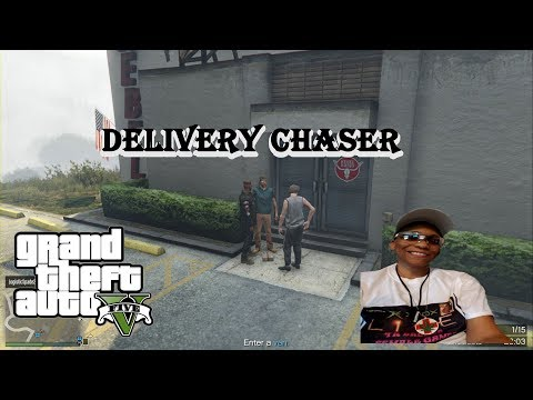 GTA V ONLINE BREEZE DELIVERY CHASE GOT SPOILED