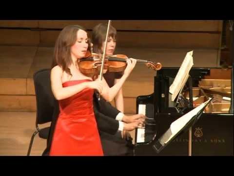 Sadie Fields Brahms Sonata no 2 Allegro amabile