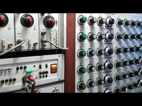 Restored EMS SYNTHI 100 @ Electronic Studio Radio Belgrade