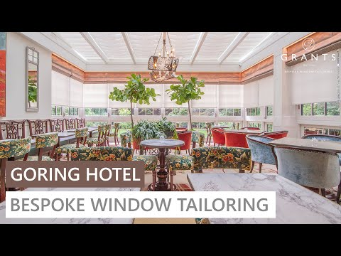 Bespoke Window Tailoring at The Goring Hotel in London