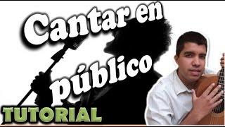 Cómo CANTAR bien EN PUBLICO | Clases de canto | Jorge Mendoza