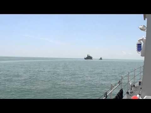USCG Marlin Wreath Transfer