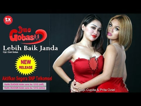DUO GOBAS - LEBIH BAIK JANDA ( Official Music Video )