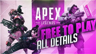 APEX LEGENDS FREE TO PLAY ! ALL U NEED TO KNOW ABOUT THIS AWESOME GAME
