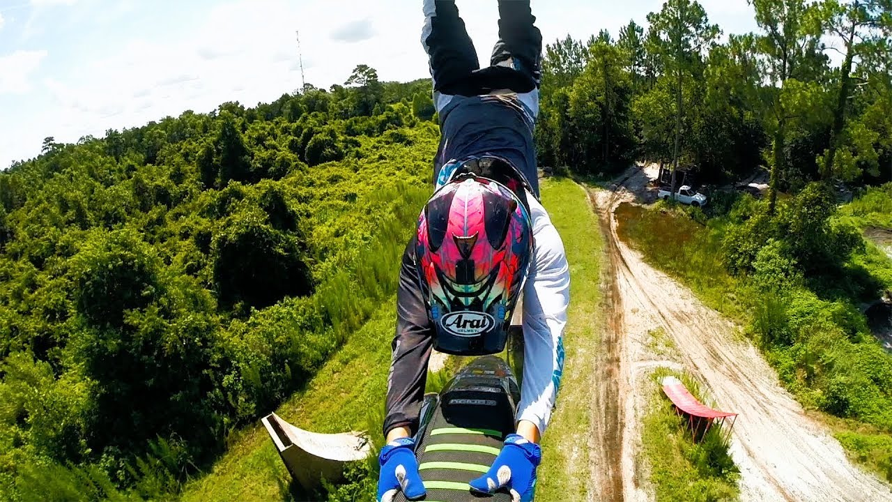 GoPro Awards: Backyard FMX Freestyle Moto Cross - YouTube
