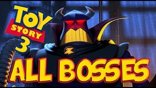 Toy Story 3 All Bosses | Final Boss (PS3, X360, Wii)
