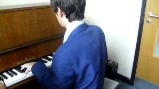 playing on the piano Thumbnail