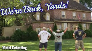 Let it begin! - Metal Detecting House Hunting season starts with a Historic 1761 Haunted Tavern!