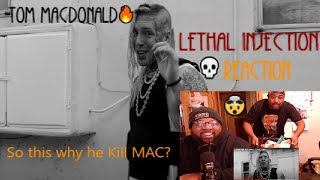"""YOU WANNA SEE A DEAD BODY? 💀🔥 #BuffChubReacts - Tom MacDonald - """"Lethal Injection"""" (MAC LETHAL DISS)"""