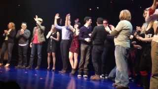 First Date Broadway - Closing Night Curtain Call (Jan. 5th, 2014)
