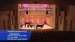 THE PIANO CONCERTO No.2 - Antti Manninen, pianist&Jyrki Lasonpalo, conductor&Mikkeli City Orchestra