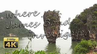 Day Trip from Ao Nang (Krabi) to James Bond Island - Thailand 4K Travel Channel