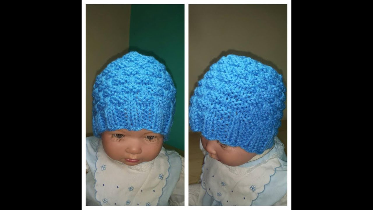 How To Knit A Newborn Baby Hat With Cicular Needles Ruby