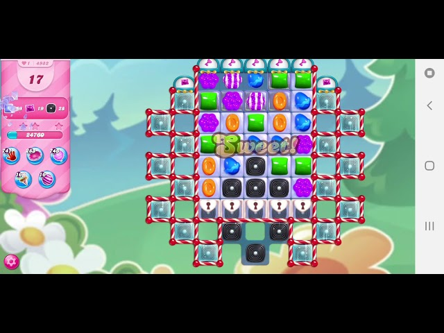 Candy Crush Saga niveau 4982