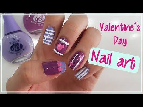 5 Diseños de uñas para San Valentin #SoyVogueraCo