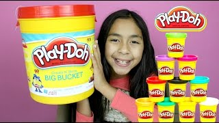 Tuesday Play Doh Create N' Store BIG PLAYDOH BUCKET!! B2cutecupcakes