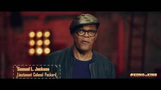 "KONG: SKULL ISLAND - ""Big Adventure"" ft. Samuel L. Jackson"