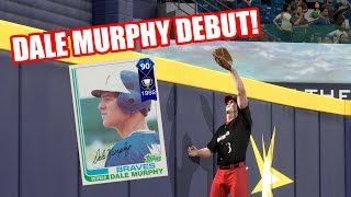 90 Dale Murphy Debut! This Game Was Against Me! - MLB The Show 18 Diamond Dynasty Gameplay
